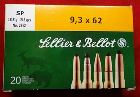Sellier & Bellot 9,3x62
